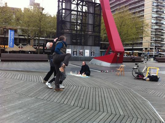 Contact Zone International Day of Dance, Schouwburgplein, Rotterdam (NL)